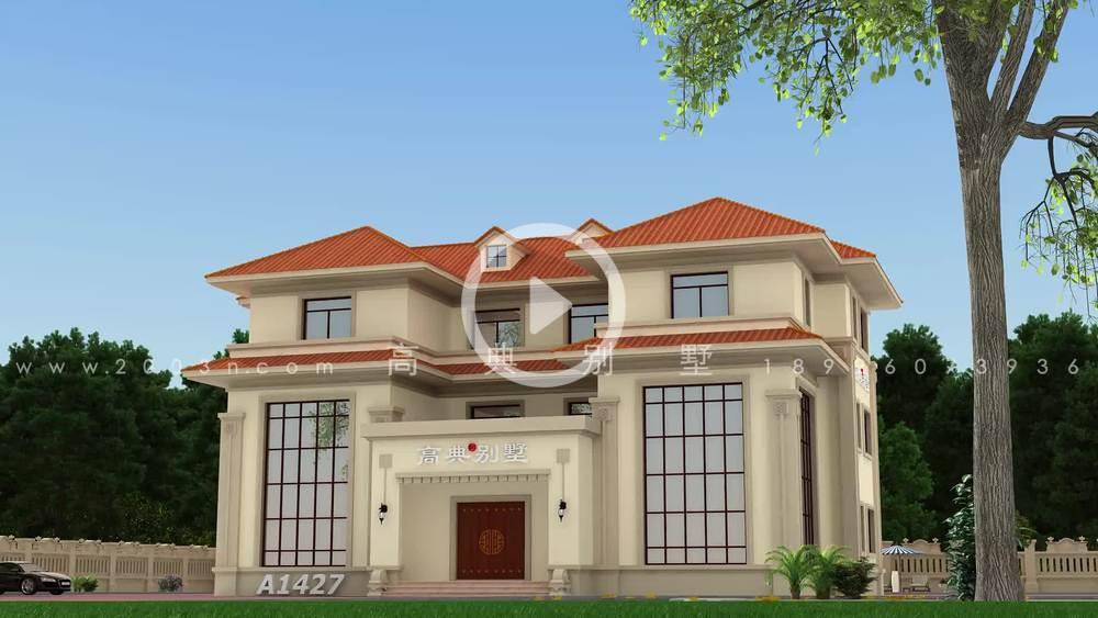 建双拼别墅,住在父母在身边