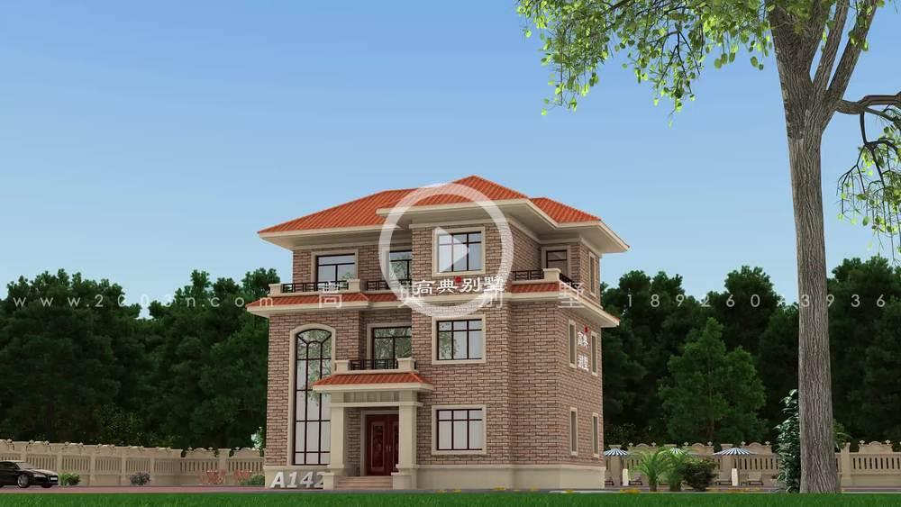 欧式风格三层小别墅设计图纸