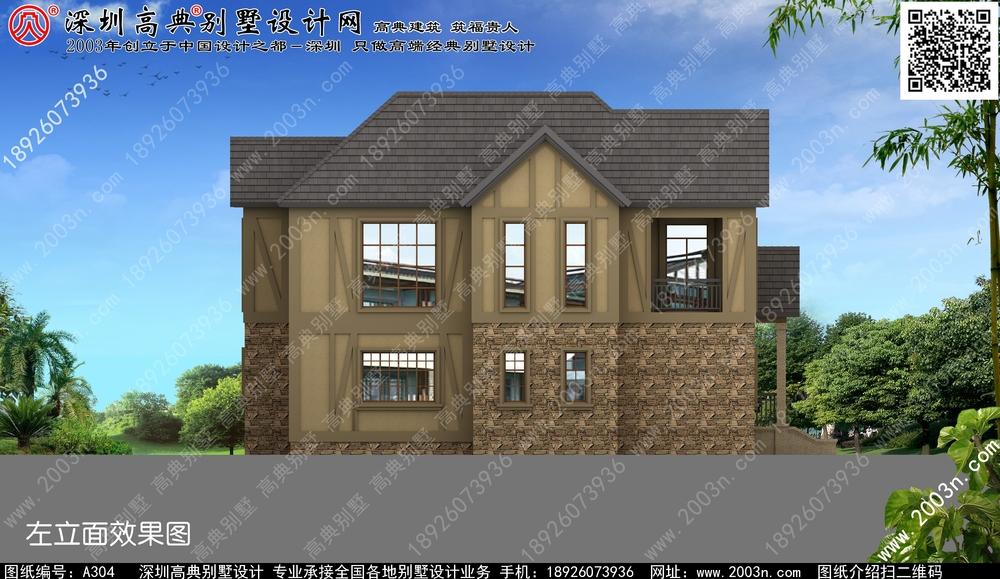 农村别墅图片大全二层展示