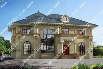 二层房屋设计效果图