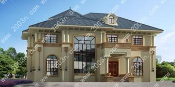 两层小别墅设计图首层216平