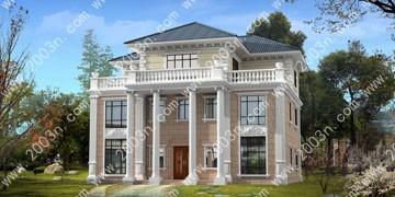三层别墅设计图首层183平
