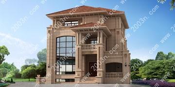 农村小别墅设计图首层192平