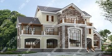 别墅设计图纸大全首层370平