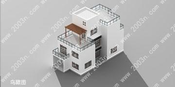 别墅设计效果图大全首层123平