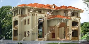 别墅设计图纸与效果图大全欧式豪华别墅首层469平