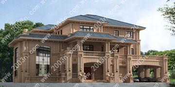 高端别墅设计图纸及效果图大全首层548平