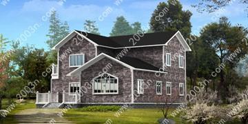两层别墅设计图首层141平