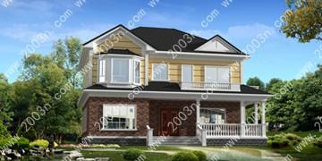 农村小型别墅设计图首层177平