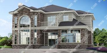 农村二层房屋设计图首层265平