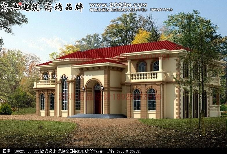 别墅设计图纸 03 t902号别墅建筑施工图纸/首层