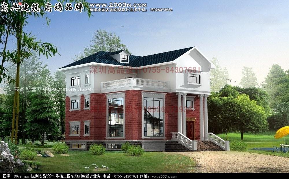 两栋别墅的多个设计方案 - 广西别墅欧式深圳高品设计