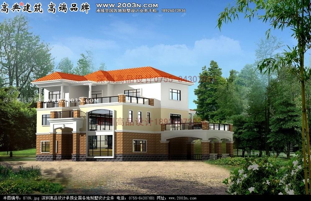 乡村两层房屋设计图图片大全 农村楼房设计图作用巨大图片