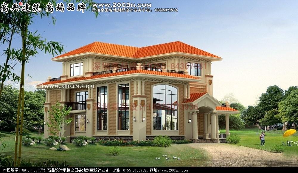 农村二层平房设计图 别墅设计图 别墅庭院设计图 别墅花园设计图 农村