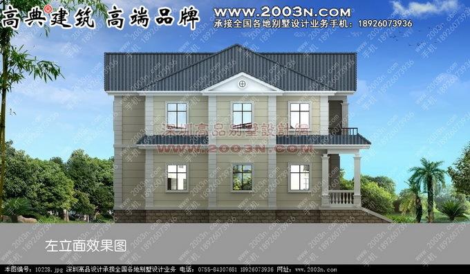 农村二层别墅设计图 别墅设计外观效果图 别墅设计图纸及效果图大全