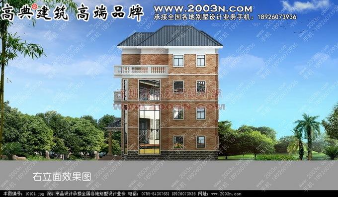 四层别墅设计图五层别墅设计19张图片