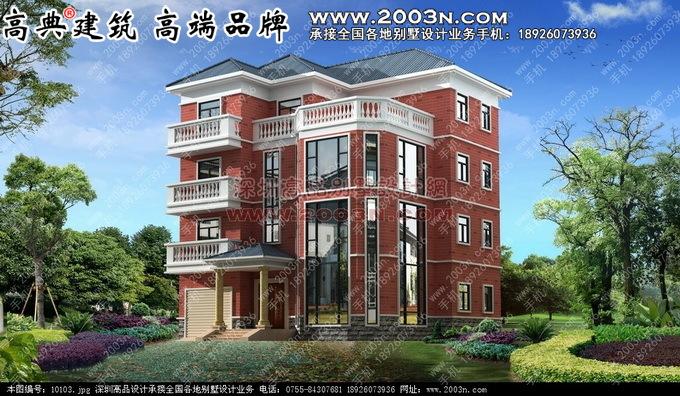 四层别墅设计图五层别墅设计19张