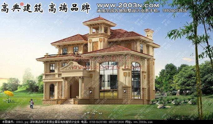 200平方米二层小别墅设计图 - 120平方米农村小别墅图片