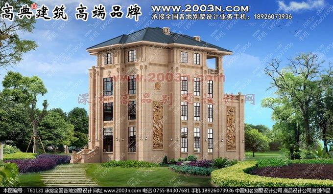 欧式别墅外景设计图_建筑设计