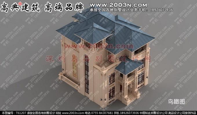 别墅外观效果图外墙石材三层别墅外观效果图高清图片