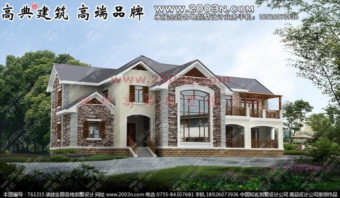 二层房屋设计平面图有限房屋设计效果图-天津博瑞易筑建筑设计二层图片