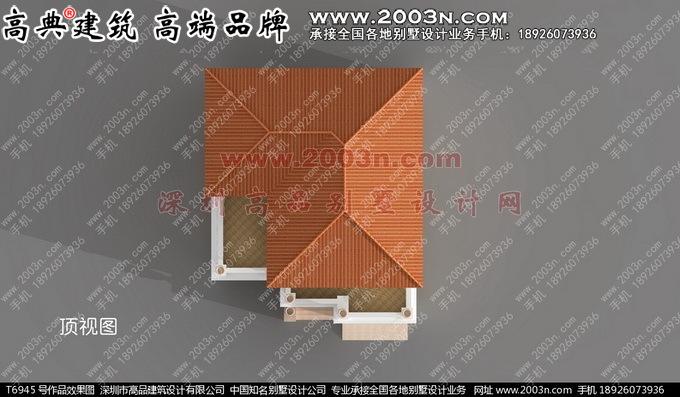 深圳高品设计T6945号三层别墅效果图大全及实景高清图片
