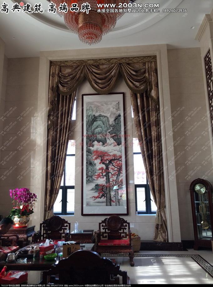 深圳高品设计t61119号欧式别墅外观设计及实景