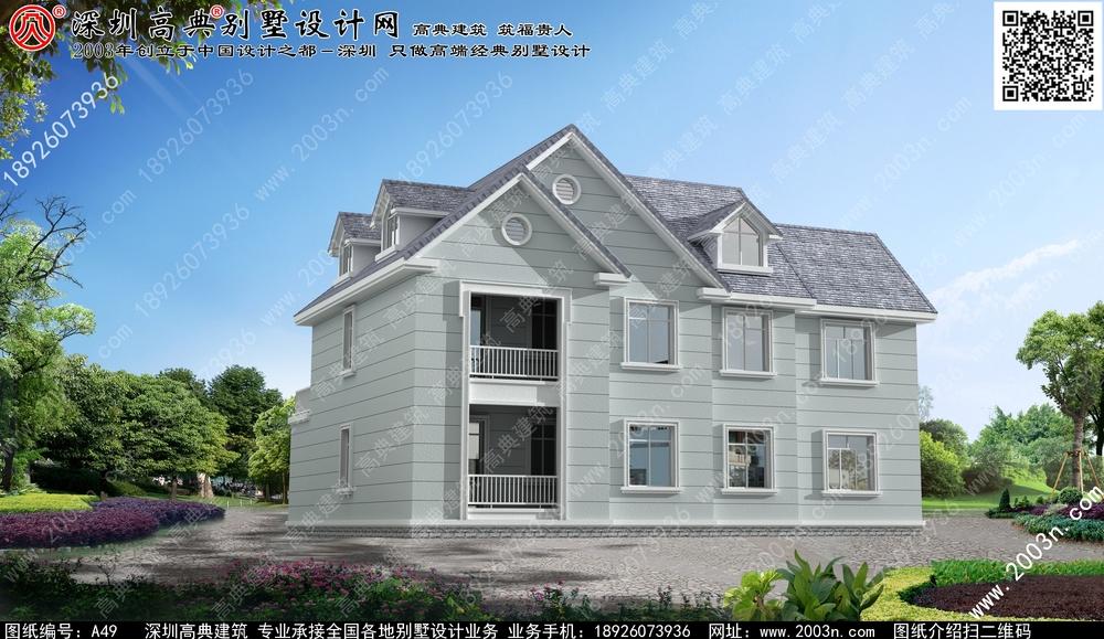 新款别墅外观图片, 欧式二层别墅外观图, 新型农村二层别墅, 别图片