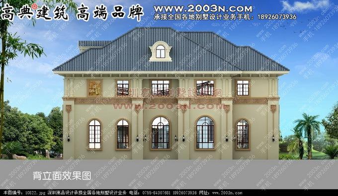 200平方米二层小别墅设计图