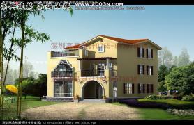 别墅设计房屋及效果图考题|大全图纸设计程序设计农村图片