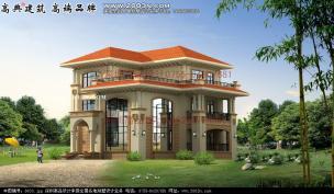 -效果设计别墅效果图|图纸设计别墅及外观脊柱设计机械图片