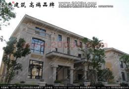 别墅外观设计实景相片别墅屋面   头页   东江湾f户型别墅高清图片