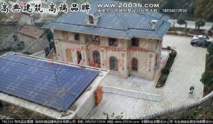 三层别墅地面效果图深圳高品设计T6861号外观效果图别墅别墅门庭前设计图片