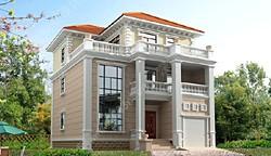 别墅两层半农村设计图140平别墅度假村网站图片